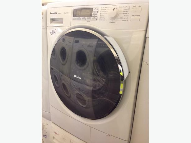 PANASONIC 8KG WASHING MACHINE 1400 SPIN