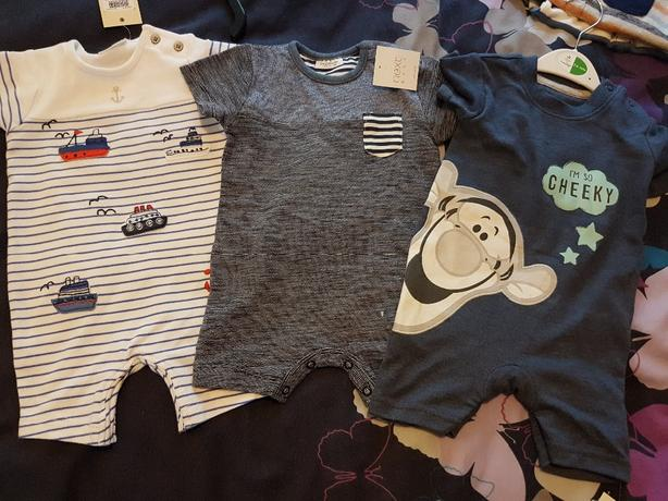 brand bew Boys rompers suits 3 to 6 months