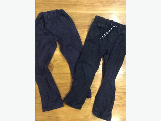 Two pairs of trousers aged 2-3 years