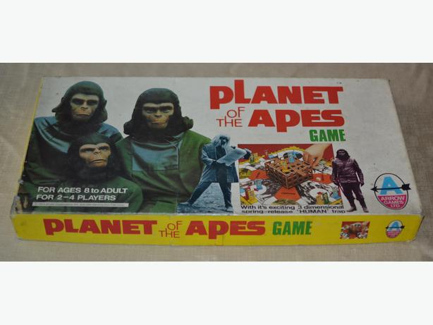 Vintage Planet of the Apes board game. Very retro