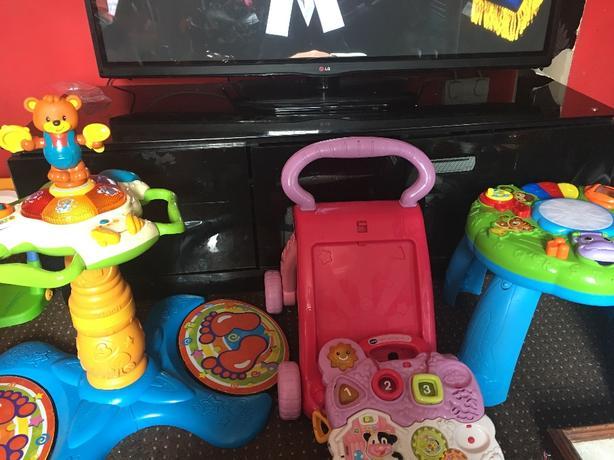 mixed toys