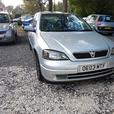 vauxhall astra sxi 1.6 petrol vgc 2003 plate
