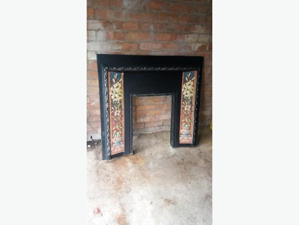 cast iron fire surrond