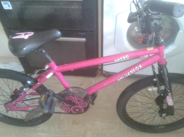 Silverfox spiro bmx new condition