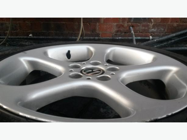 "BMW, VW, AUDI 19"" wheels and part worn tyres very good condition"