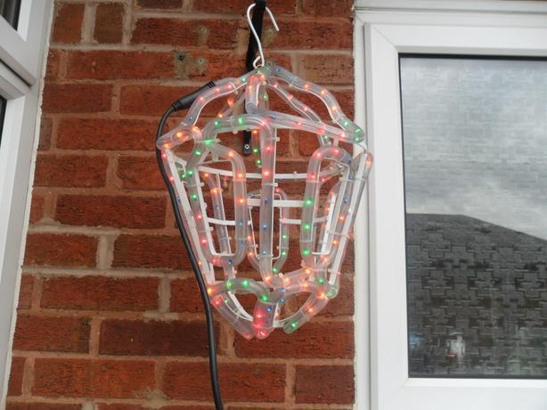 Christmas Rope Lantern