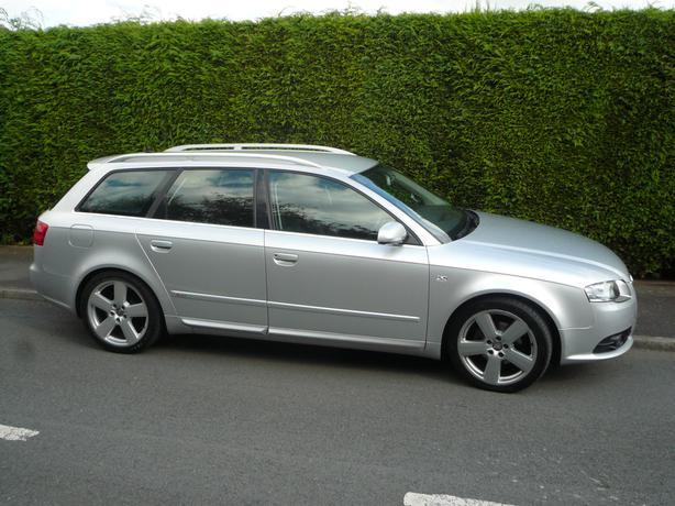 audi a4 avant s line estate tdi 2 0 diesel 140 2007 87k. Black Bedroom Furniture Sets. Home Design Ideas