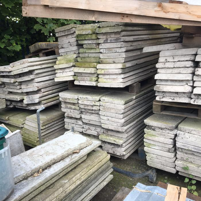used concrete gravel boards wednesbury dudley. Black Bedroom Furniture Sets. Home Design Ideas