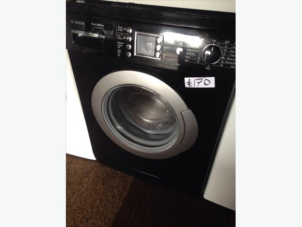 BLACK BOSCH 6KG WASHING MACHINE