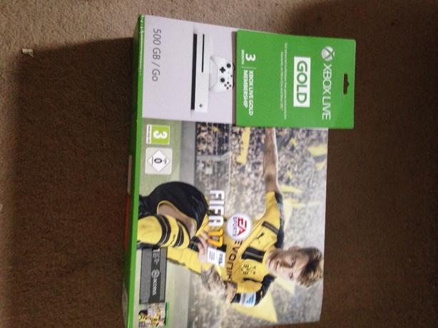 xbox s 500gb with fifa 17