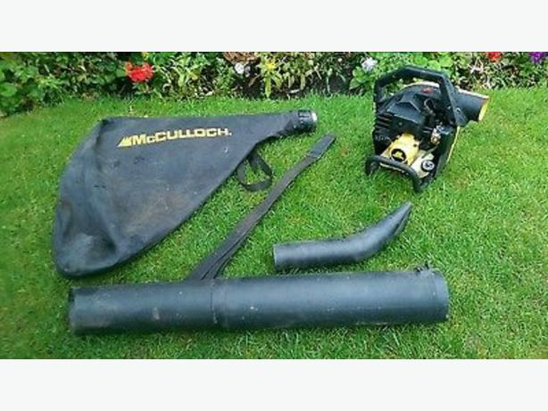 mcCOLLOUGH petrolleaf blower