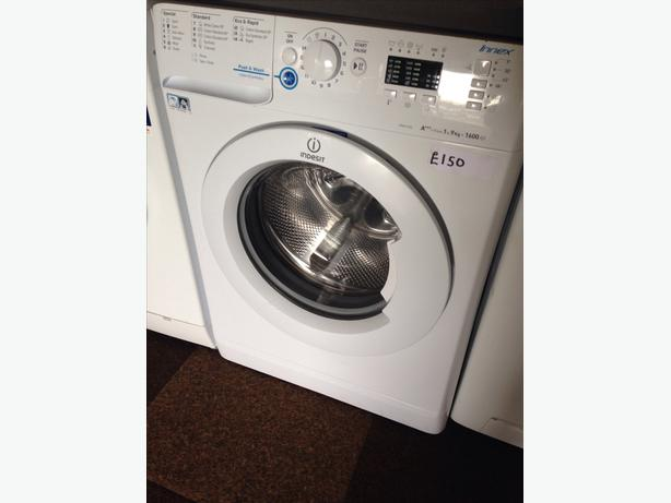 INDESIT 1-9KG WASHING MACHINE 1600 SPIN