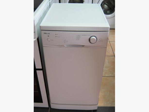 Proline 45cm Wide Slimline Dishwasher with 6 Month Warranty