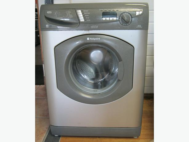Hotpoint Silver Washing Machine, 7kg Capacity, 1600 Spin, 6 Month Warranty
