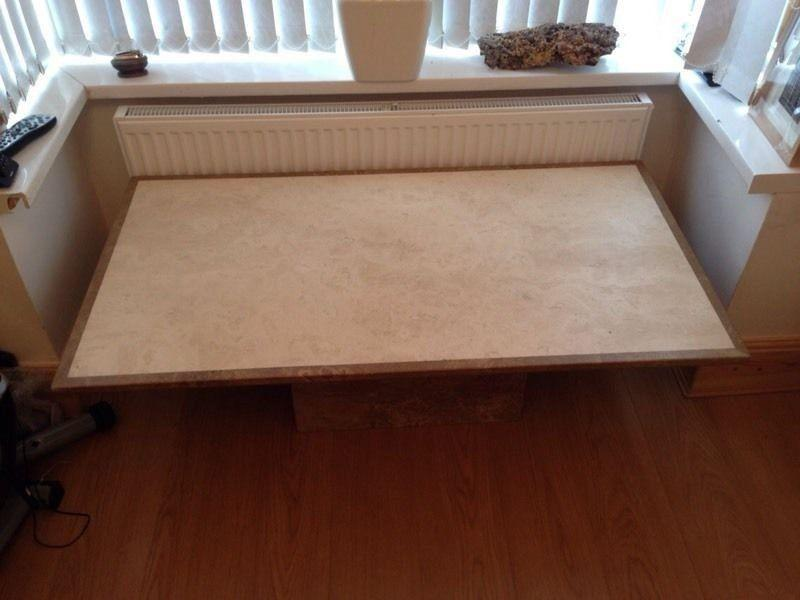 solid marble coffee table other dudley. Black Bedroom Furniture Sets. Home Design Ideas