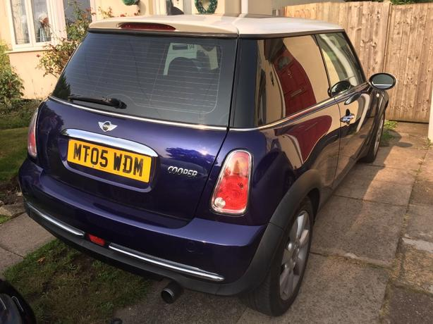 1.6 mini cooper. immaculate condition!!