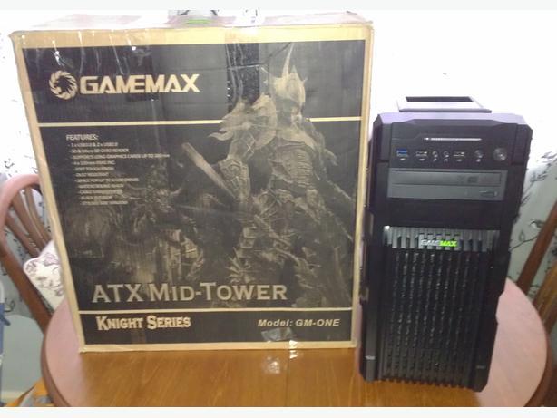 GameMax Knight PC - i5 Quad Core - 8GB Memory - 4GB Msi gfx -1TB HDD