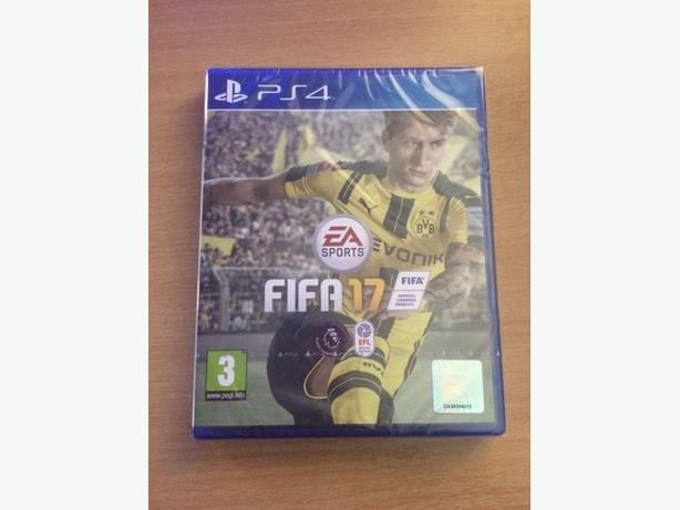 FIFA 17 PS4 BRAND NEW AND SEALED (UNOPENED!)