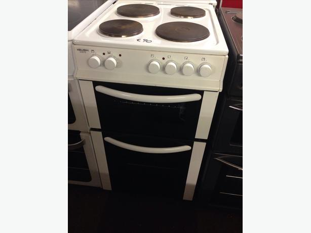 BUSH PLATED TOP ELECTRIC COOKER 50CM
