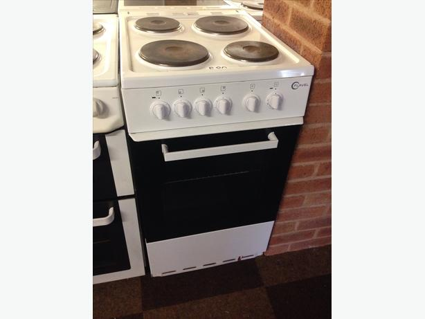 FLAVEL PLATED TOP SINGLE CAVITY 50CM ELECTRIC COOKER