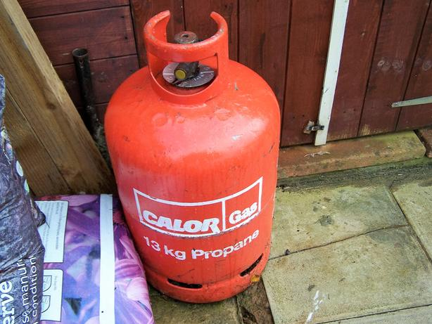 Propane/Calor gas Bottle