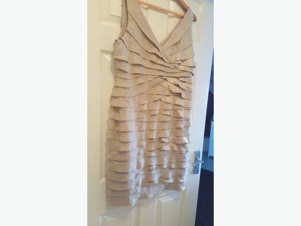 Wedding or party dress. size 18 very flattering due to shape and design