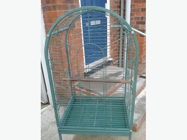 parrot/bird cage