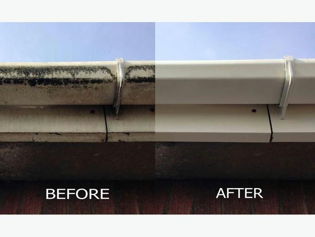 GUTTER CLEANING AND REPLACEMENTS
