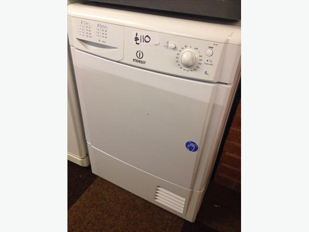 INDESIT CONDENSER DRYER 8KG