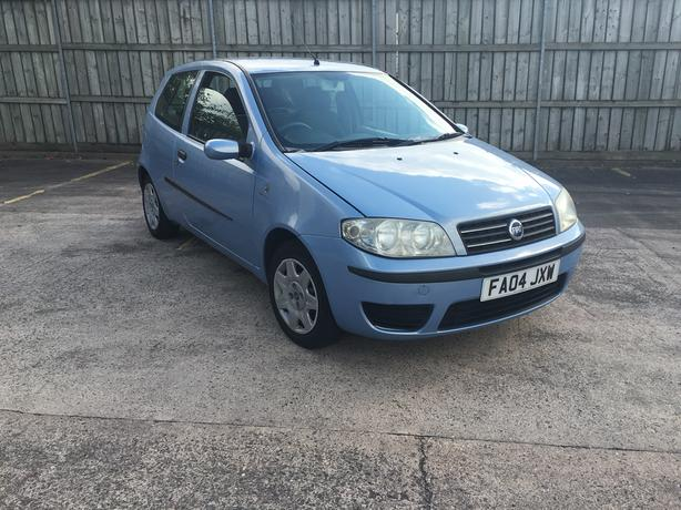 Fiat Punto 1.2 Automatic, 3d, 2004 model, long mot