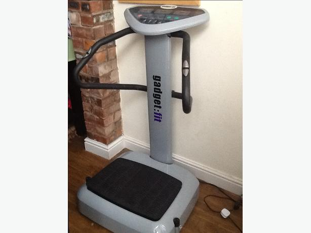 Gadget fit power plate