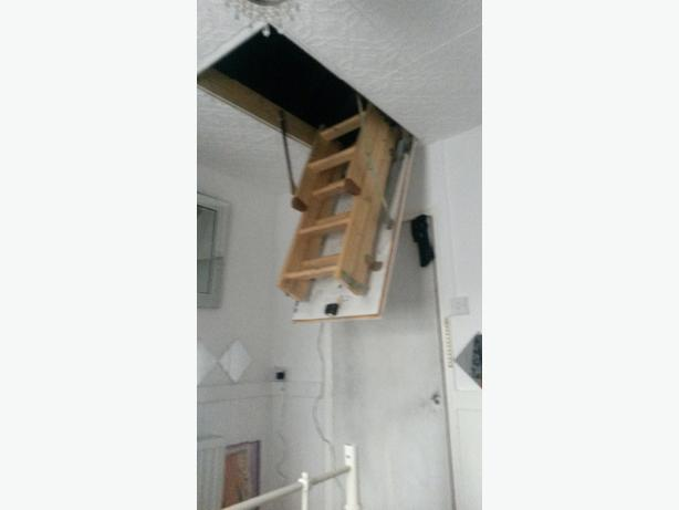 3 Section Attic Ladder