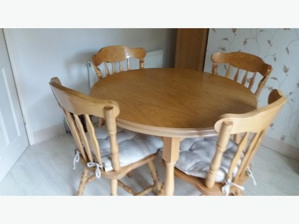 Pine Kitchen Table And Chairs Coseley Dudley