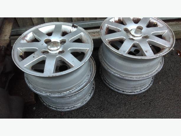 ford fiesta alloy wheels 14 inch x 4