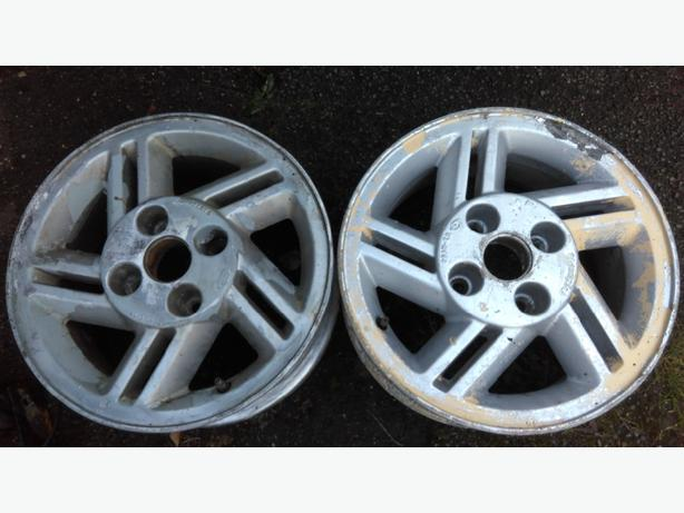 ford xr3i wheels 14 inch x 2