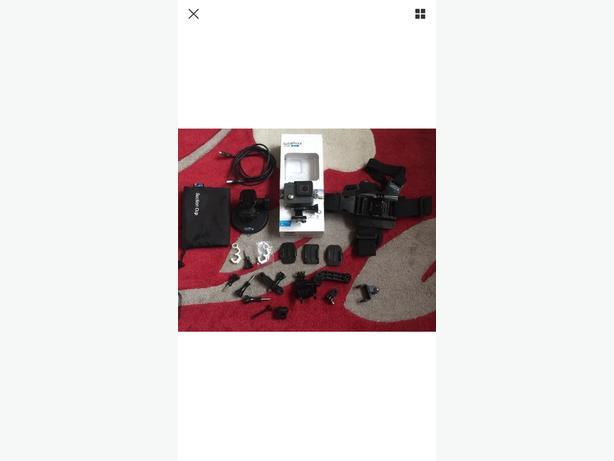 GoPro Hero camera and accessories