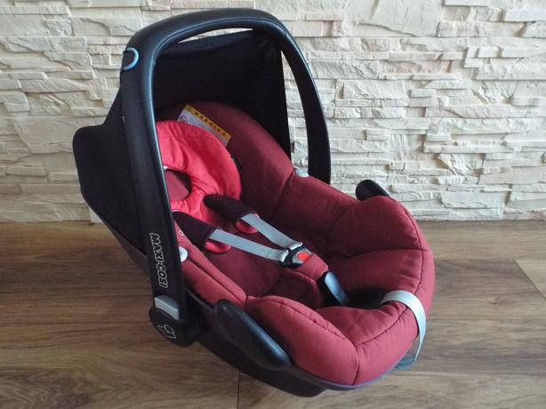 *** MAXI COSI PEBBLE 0 - 13 kg - GROUP 0 - RED BABY CAR SEAT ***