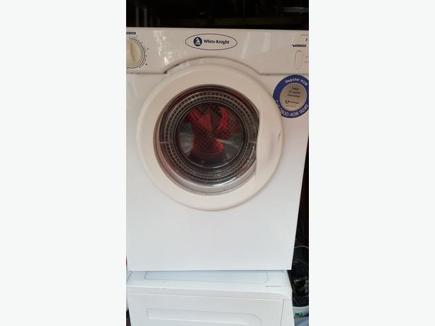 White Knight C38AW Compact Vented Reverse Tumble Dryer