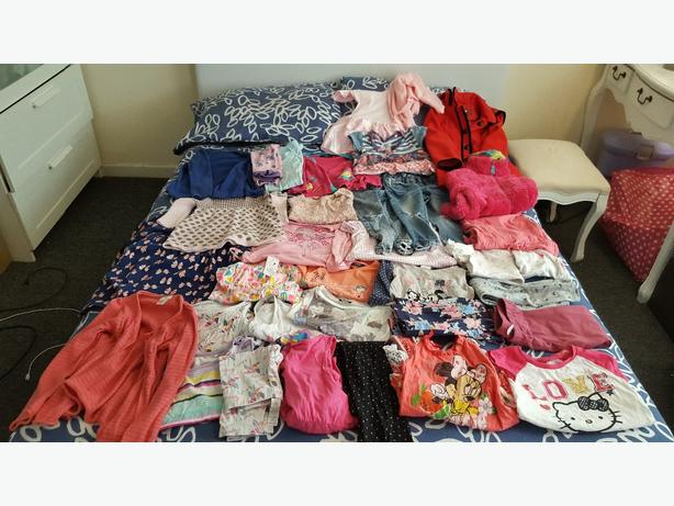 girls bundle age 3 upto 5
