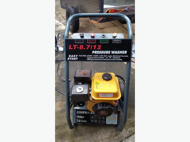FoxHunter Quality 2200 PSI 5.5 HP 4 Stroke OHV Petrol Pressure Washer Jet Washer