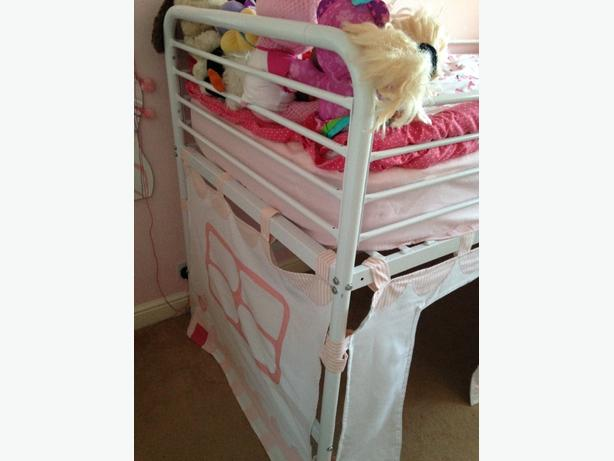 childs midi riser single bed