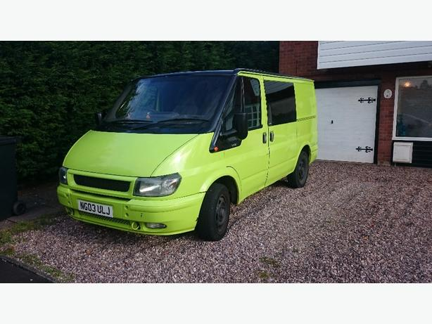 one off swb ford transit