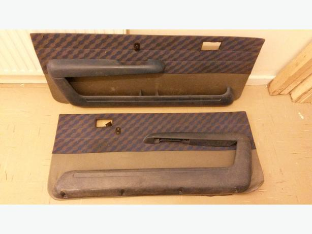 Vauxhall nova sr door cards