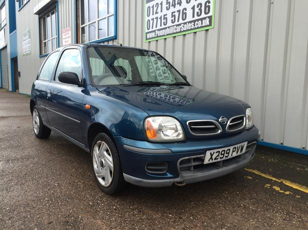2001 Nissan Micra 1.0 S Automatic *LONG MOT* *CHEAP AUTO*