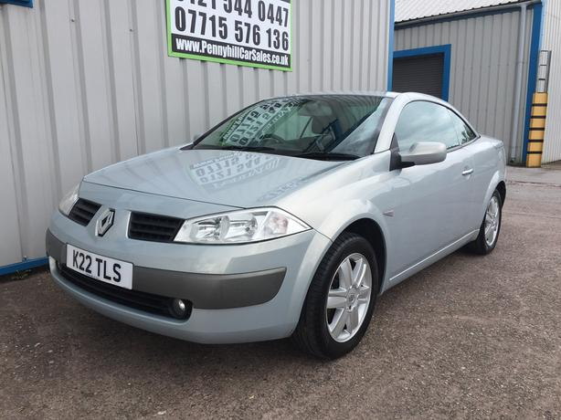 2004 Renault Megane Convertible 1.6 Karmann **ELECTRIC ROOF**