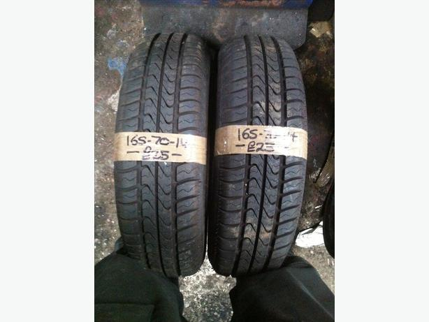 2x 165-70-14 Debica Passio 81T New Tyres