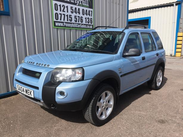 2004 Land Rover Freelander 1.8 HSE #12 MONTHS MOT - BLACK LEATHER#