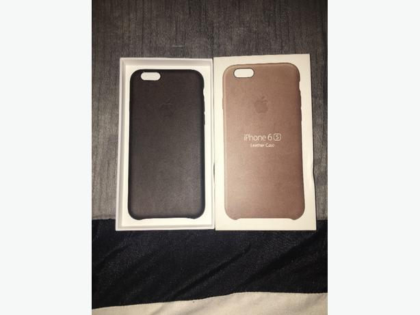 Iphone 6s Genuine Brown Leather Case