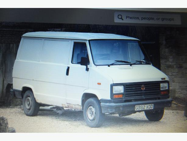 WANTED: WANTED: TALBOT EXPRESS VANOR FIAT VAN SAME AS PICTURE