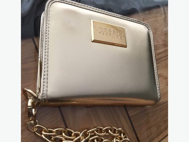 Versace Gold Clutch Bag